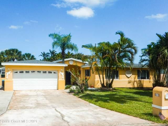 453 S Neptune Drive, Satellite Beach, FL 32937 (MLS #901285) :: Premium Properties Real Estate Services