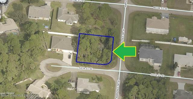 1395 Corner Lot On Silva Street SE, Palm Bay, FL 32909 (MLS #901286) :: Armel Real Estate