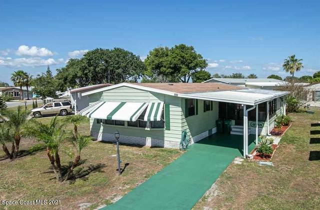 906 Red Bud Road, Barefoot Bay, FL 32976 (MLS #901345) :: Blue Marlin Real Estate