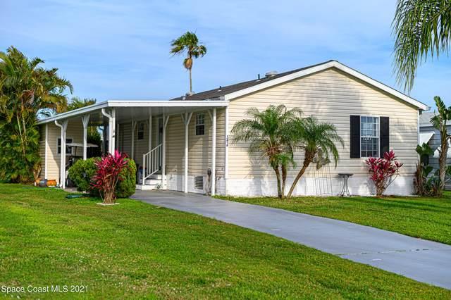 1216 Barefoot Circle, Barefoot Bay, FL 32976 (MLS #901383) :: Engel & Voelkers Melbourne Central