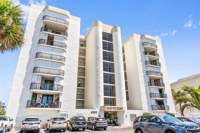 1835 S Atlantic Avenue #803, Cocoa Beach, FL 32931 (MLS #901429) :: Blue Marlin Real Estate