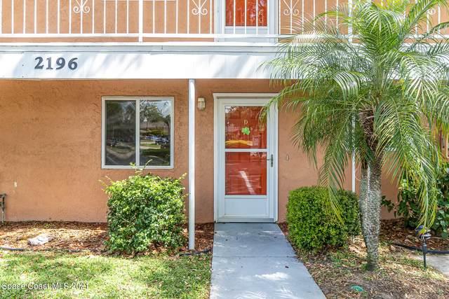 2196 Knox Mc Rae Drive #4, Titusville, FL 32780 (MLS #901461) :: Premium Properties Real Estate Services