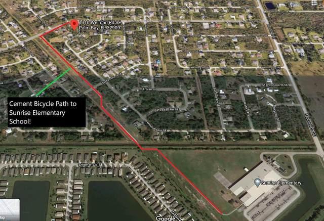 1310 Weiman Road SE, Palm Bay, FL 32909 (MLS #901464) :: Engel & Voelkers Melbourne Central