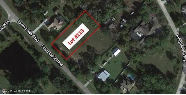 0000 Fawn Lake Lot 113 Boulevard, Mims, FL 32754 (MLS #901551) :: Premium Properties Real Estate Services