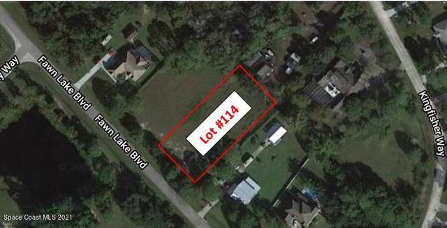 0000 Fawn Lake Lot 114 Boulevard, Mims, FL 32754 (MLS #901553) :: Premium Properties Real Estate Services