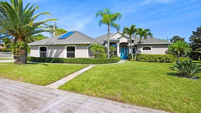 781 Spanish Cay Drive, Merritt Island, FL 32952 (MLS #901637) :: Premium Properties Real Estate Services