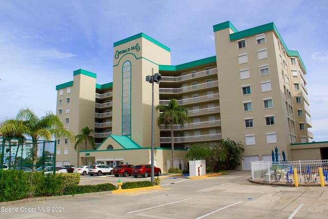 3400 Ocean Beach Boulevard #707, Cocoa Beach, FL 32931 (MLS #901799) :: Premium Properties Real Estate Services