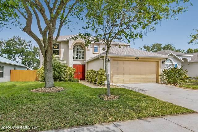 4096 Four Lakes Drive, Melbourne, FL 32940 (MLS #901858) :: Blue Marlin Real Estate