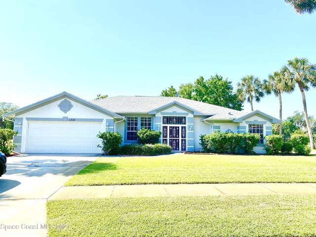 1210 Meadowbrook Road NE, Palm Bay, FL 32905 (MLS #901873) :: Premium Properties Real Estate Services
