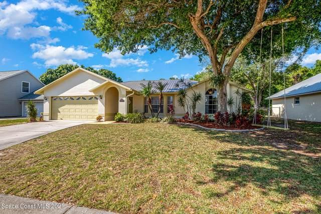 890 Spirea Drive, Rockledge, FL 32955 (MLS #901875) :: Premium Properties Real Estate Services