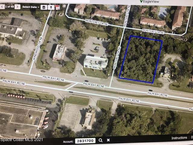 Xxx Palm Bay Road NE, Palm Bay, FL 32905 (MLS #901916) :: Blue Marlin Real Estate