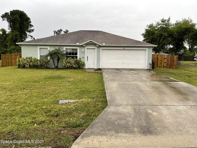 880 Brickell Street SE, Palm Bay, FL 32909 (MLS #901988) :: Dalton Wade Real Estate Group
