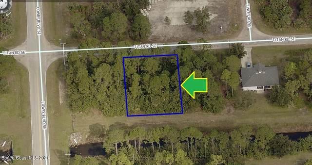 614 Titan Road SE, Palm Bay, FL 32909 (MLS #902081) :: Premium Properties Real Estate Services