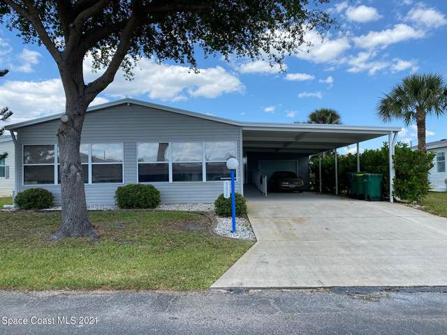 336 Meridian Run Drive #246, Cocoa, FL 32926 (MLS #902098) :: Premium Properties Real Estate Services