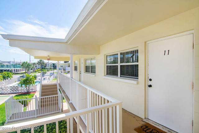 425 Tyler Avenue #11, Cape Canaveral, FL 32920 (MLS #902158) :: Premium Properties Real Estate Services