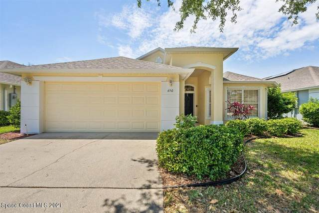 650 Morning Cove Circle SE, Palm Bay, FL 32909 (MLS #902304) :: Premier Home Experts