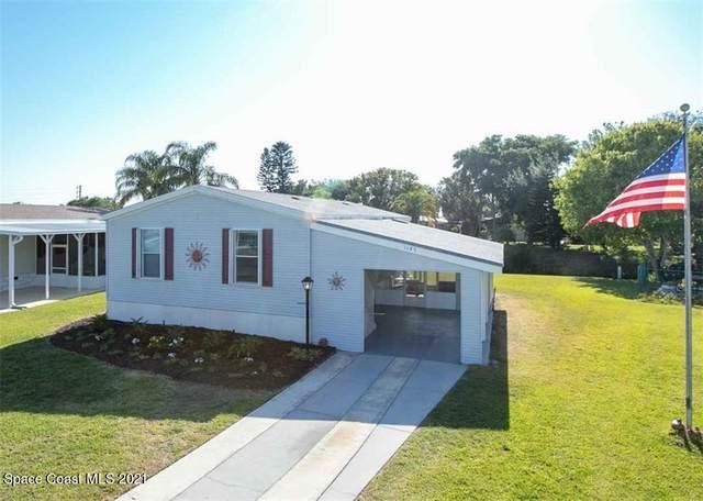 1149 Barefoot Circle, Barefoot Bay, FL 32976 (MLS #902335) :: Blue Marlin Real Estate