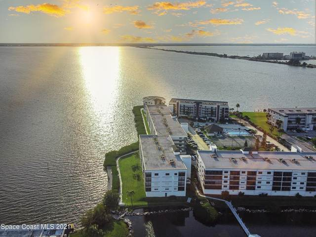 3611 S Banana River Boulevard #405, Cocoa Beach, FL 32931 (MLS #902573) :: Blue Marlin Real Estate