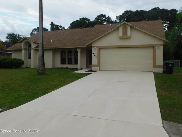 920 Grainger Street SE, Palm Bay, FL 32909 (MLS #902746) :: Premium Properties Real Estate Services