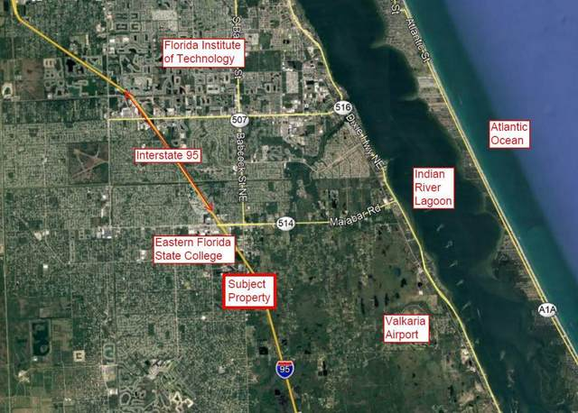 0000 Lett Lane, Malabar, FL 32950 (MLS #902778) :: Premium Properties Real Estate Services