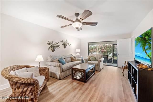 5800 N Banana River Boulevard #117, Cape Canaveral, FL 32920 (MLS #902874) :: Keller Williams Realty Brevard