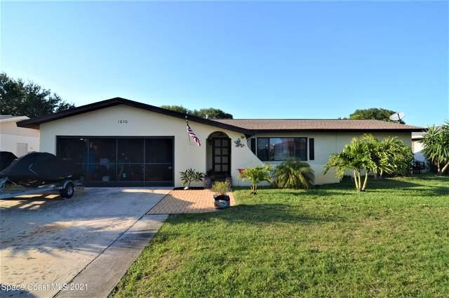 1670 E Riviera Drive, Merritt Island, FL 32952 (MLS #902940) :: Blue Marlin Real Estate
