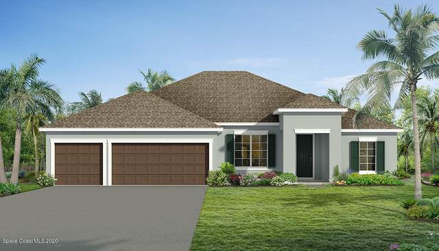 291 Vin Rose Circle SE, Palm Bay, FL 32909 (MLS #903001) :: Premium Properties Real Estate Services