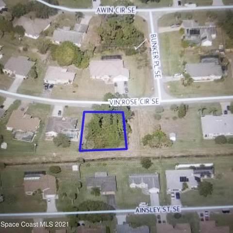 350 Vin Rose Circle SE, Palm Bay, FL 32909 (MLS #903295) :: Premium Properties Real Estate Services
