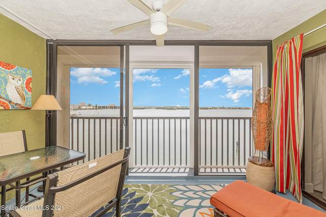 3609 S Banana River Boulevard #410, Cocoa Beach, FL 32931 (MLS #903390) :: Blue Marlin Real Estate