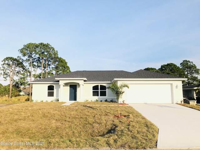 722 Indigo Street SE, Palm Bay, FL 32909 (MLS #903397) :: Blue Marlin Real Estate