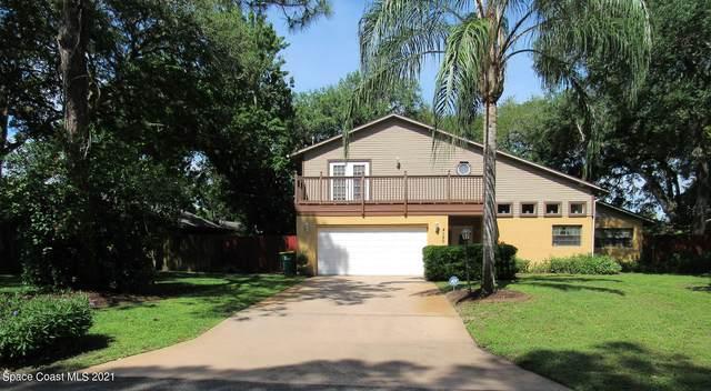 4120 Ponds Drive, Cocoa, FL 32927 (MLS #903514) :: Blue Marlin Real Estate