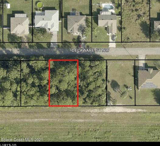 1874 Delaware Street NW, Palm Bay, FL 32907 (MLS #903607) :: Premier Home Experts