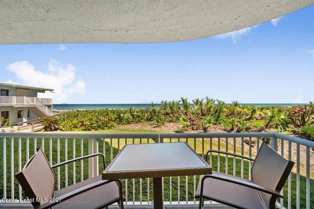 3031 S Atlantic Avenue #102, Cocoa Beach, FL 32931 (MLS #903685) :: Premium Properties Real Estate Services