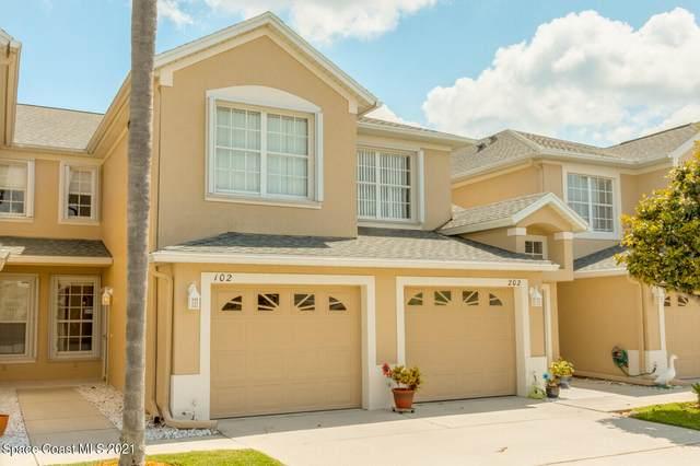 501 Trotter Lane #102, Melbourne, FL 32940 (MLS #903793) :: Blue Marlin Real Estate