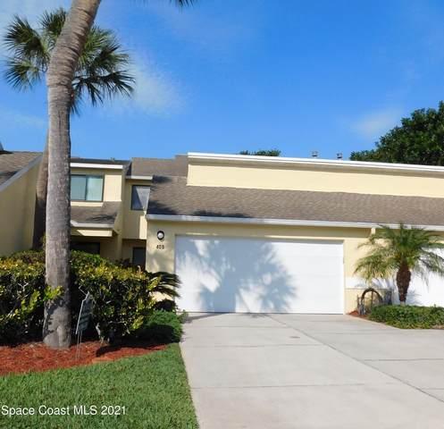 409 Entrance Way #4, Melbourne, FL 32940 (MLS #903804) :: Blue Marlin Real Estate