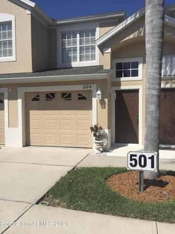 501 Trotter Lane #204, Melbourne, FL 32940 (MLS #903946) :: Blue Marlin Real Estate