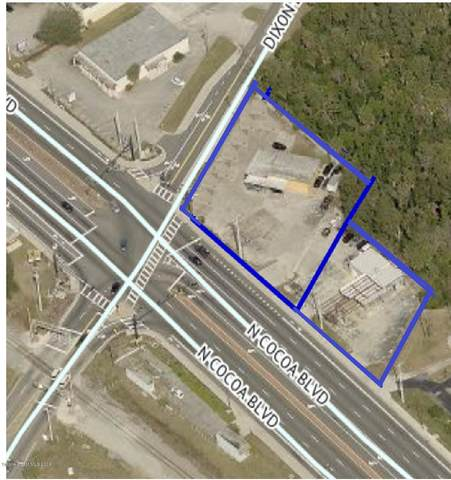 1206 N Cocoa Boulevard, Cocoa, FL 32922 (MLS #903965) :: Blue Marlin Real Estate