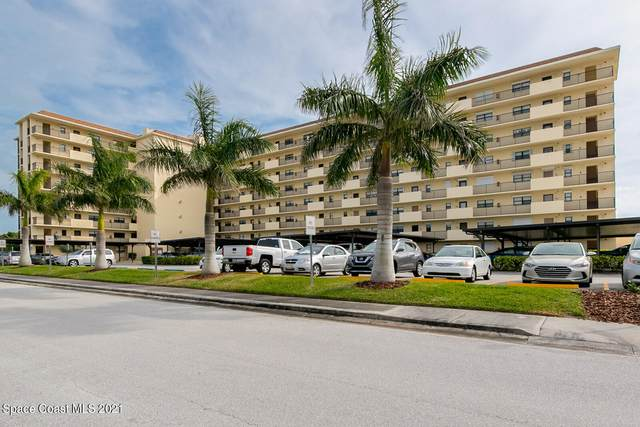500 Palm Springs Boulevard #704, Indian Harbour Beach, FL 32937 (MLS #904030) :: Blue Marlin Real Estate