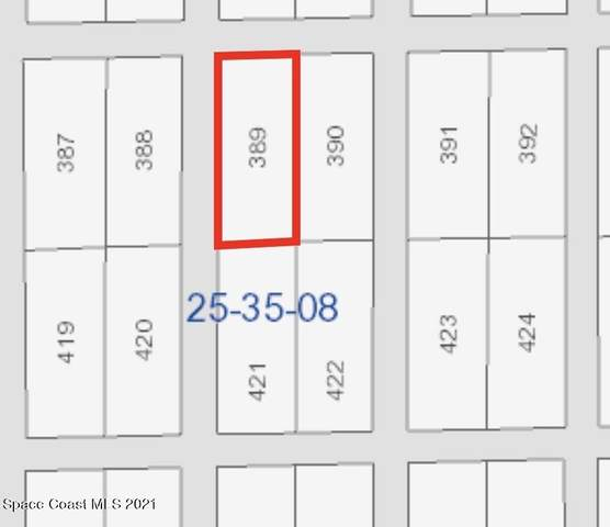 Tract 422, 421, 390, 389, Rockledge, FL 32955 (MLS #904047) :: Blue Marlin Real Estate