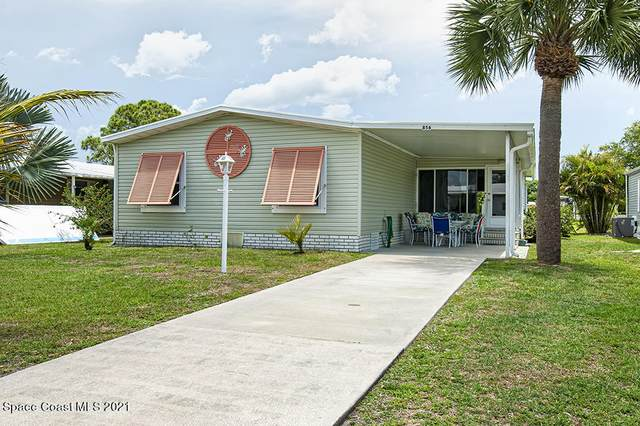 856 Waterway Dr Drive, Barefoot Bay, FL 32976 (MLS #904115) :: New Home Partners