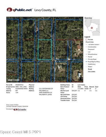 0 Sw 125th Ter, Cedar Key, FL 32625 (MLS #904137) :: Premier Home Experts