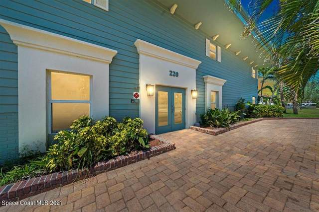 220 Columbia Drive #2, Cape Canaveral, FL 32920 (MLS #904184) :: Premier Home Experts