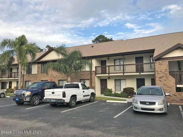 1515 Huntington Lane #516, Rockledge, FL 32955 (MLS #904244) :: Blue Marlin Real Estate