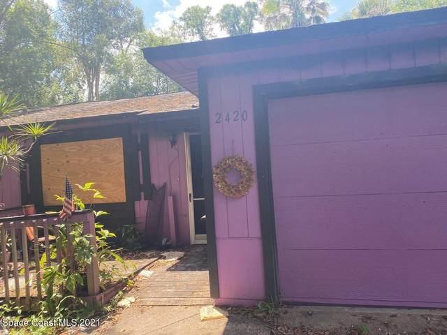 2420 Maple Street, Melbourne, FL 32904 (MLS #904372) :: Blue Marlin Real Estate