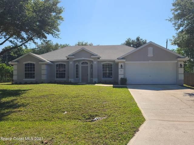 556 Krefeld Road NW, Palm Bay, FL 32907 (MLS #904404) :: Blue Marlin Real Estate