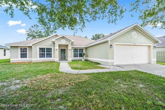 927 Eastlake Street SE, Palm Bay, FL 32909 (MLS #904439) :: Blue Marlin Real Estate