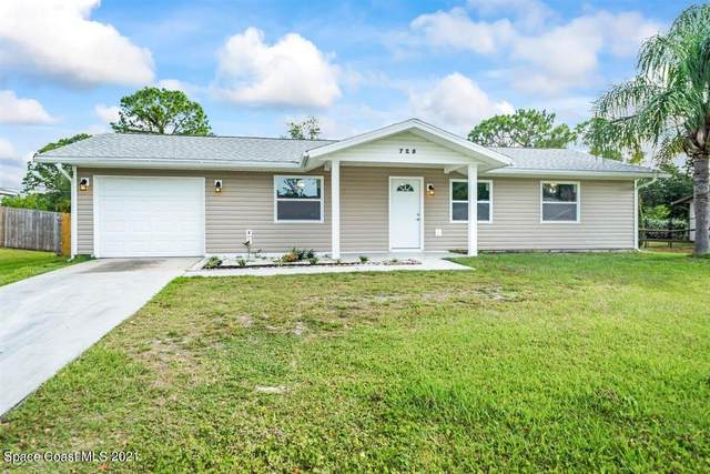 725 Thuringer Street NW, Palm Bay, FL 32907 (MLS #904456) :: Blue Marlin Real Estate