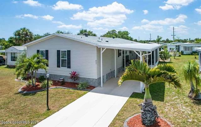 403 Osprey Drive, Barefoot Bay, FL 32976 (MLS #904464) :: New Home Partners