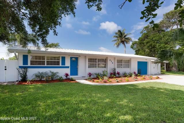 370 Capri Road, Cocoa Beach, FL 32931 (MLS #904510) :: Premium Properties Real Estate Services