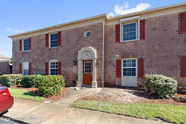 913 S Colonial Court #0, Indian Harbour Beach, FL 32937 (MLS #904705) :: Blue Marlin Real Estate